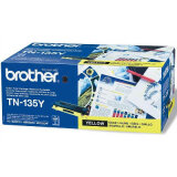 Toner Oryginalny Brother TN-135Y (TN135Y) (Żółty) do Brother DCP-9042 CDN