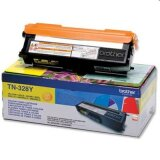 Toner Oryginalny Brother TN-328Y (TN328Y) (Żółty) do Brother DCP-9270 CDN