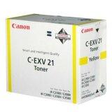 Toner Oryginalny Canon C-EXV 21 Y (0455B002) (Żółty)