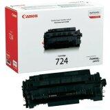 Toner Oryginalny Canon CRG-724 (3481B002AA) (Czarny)