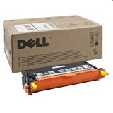 Toner Oryginalny Dell 3130 3k (593-10295) (Żółty)