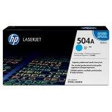 Toner Oryginalny HP 504A (CE251A, CE251YC) (Błękitny) do HP Color LaserJet CP3525 X