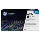 Toner Oryginalny HP 649X (CE260X) (Czarny) do HP Color LaserJet Enterprise CP4525 N