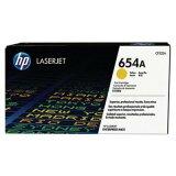 Toner Oryginalny HP 654A (CF332A) (Żółty) do HP LaserJet Enterprise M651 XH