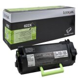 Toner Oryginalny Lexmark 622X (62D2X00) (Czarny)
