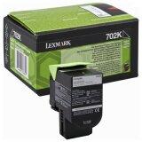 Toner Oryginalny Lexmark 702K (70C20K0) (Czarny)