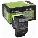 Toner Oryginalny Lexmark 802SK (80C2SK0) (Czarny)