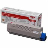 Toner Oryginalny Oki C5850/5950 (43865722) (Purpurowy)