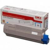Toner Oryginalny Oki C833/C843 10K (46443103) (Błękitny)