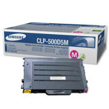 Toner Oryginalny Samsung CLP-500D5M (Purpurowy) do Samsung CLP-500
