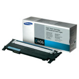 Toner Oryginalny Samsung CLT-C406S (ST984A) (Błękitny) do Samsung CLX-3305 W