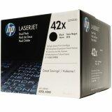 Tonery Oryginalne HP 42X (Q5942XD) (Czarne) (dwupak) do HP LaserJet 4350 DTN