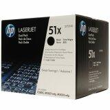 Tonery Oryginalne HP 51X (Q7551XD) (Czarne) (dwupak) do HP LaserJet M3035 XS MFP