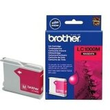 Tusz Oryginalny Brother LC-1000 M (LC1000M) (Purpurowy) do Brother FAX-1560