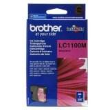 Tusz Oryginalny Brother LC-1100 M (LC1100M) (Purpurowy) do Brother DCP-J715 W