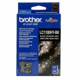 Tusz Oryginalny Brother LC-1100HY BK (LC1100HYBK) (Czarny) do Brother MFC-5490 CN