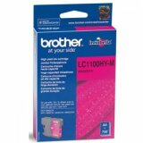 Tusz Oryginalny Brother LC-1100HY M (LC1100HYM) (Purpurowy) do Brother DCP-585 CW