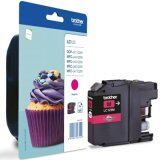 Tusz Oryginalny Brother LC-123 M (LC123M) (Purpurowy) do Brother DCP-J132 W