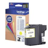Tusz Oryginalny Brother LC-223 Y (LC223Y) (Żółty) do Brother MFC-J5720 DW