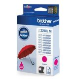 Tusz Oryginalny Brother LC-225 XL M (LC225XLM) (Purpurowy) do Brother MFC-J4420 DW