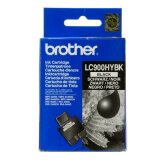 Tusz Oryginalny Brother LC-900 XL BK (LC900HY-BK) (Czarny) do Brother FAX-2240 C
