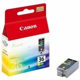 Tusz Oryginalny Canon CLI-36 (1511B001) (Kolorowy) do Canon PIXMA iP110 + bateria