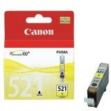 Tusz Oryginalny Canon CLI-521 Y (2936B001) (Żółty)