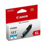 Tusz Oryginalny Canon CLI-551 C XL (6444B001) (Błękitny) do Canon Pixma MG6650 White