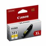 Tusz Oryginalny Canon CLI-551 Y XL (6446B001) (Żółty) do Canon Pixma MG5650 White