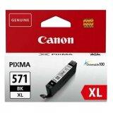 Tusz Oryginalny Canon CLI-571 XL BK (0331C001) (Czarny) do Canon Pixma TS5050