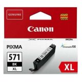 Tusz Oryginalny Canon CLI-571 XL BK (0331C001) (Czarny) do Canon Pixma MG7752