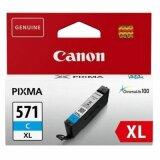 Tusz Oryginalny Canon CLI-571 XL C (0332C001) (Błękitny) do Canon Pixma MG5752