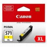 Tusz Oryginalny Canon CLI-571 XL Y (0334C001) (Żółty)