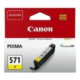 Tusz Oryginalny Canon CLI-571 Y (0388C001) (Żółty)