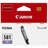 Tusz Oryginalny Canon CLI-581 PB (2107C001) (Niebieski Foto)