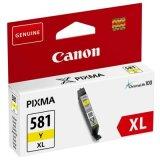 Tusz Oryginalny Canon CLI-581 XL Y (2051C001) (Żółty)