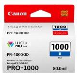 Tusz Oryginalny Canon PFI-1000B (0555C001) (Niebieski)