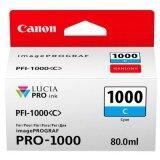 Tusz Oryginalny Canon PFI-1000C (0547C001) (Błękitny)