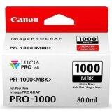 Tusz Oryginalny Canon PFI-1000MBK (0545C001) (Czarny matowy)