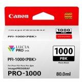 Tusz Oryginalny Canon PFI-1000PBK (0546C001) (Czarny Foto)
