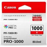 Tusz Oryginalny Canon PFI-1000R (0554C001) (Czerwony)