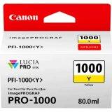 Tusz Oryginalny Canon PFI-1000Y (0549C001) (Żółty)