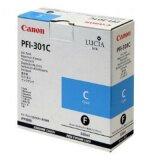 Tusz Oryginalny Canon PFI-301C (1487B001) (Błękitny)