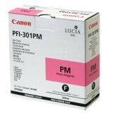 Tusz Oryginalny Canon PFI-301PM (1491B001) (Purpurowy Foto)