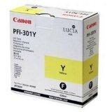 Tusz Oryginalny Canon PFI-301Y (1489B001) (Żółty)
