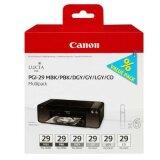 Tusz Oryginalny Canon PGI-29 (MBK,PBK,DGY,GY,LGY,CO) (4868B018)