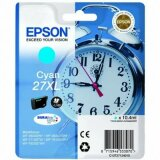 Tusz Oryginalny Epson 27xl (C13T271240) (Błękitny) do Epson WorkForce WF-3640 DTWF