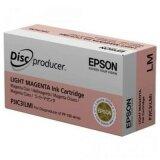 Tusz Oryginalny Epson PJIC3(LM) (C13S020449) (Jasny purpurowy) do Epson Discproducer PP-50 BD