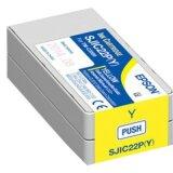 Tusz Oryginalny Epson SJIC22P Y (C33S020604) (Żółty)