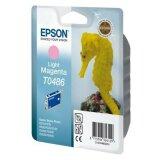 Tusz Oryginalny Epson T0486 (C13T04864010) (Jasny purpurowy)